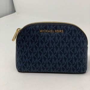 Michael kors travel pouch cosmetic case admiral